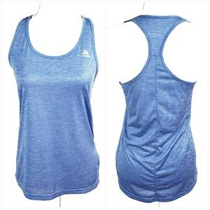 22078cf55c8d82 Adidas Striped Athletic Racerback Tank Top - Small
